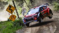 Citroen C3 WRC sezonu podyumda bitirdi