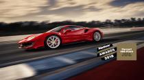 Ferrari 488 Pista 'Yılın Süper Otomobili' seçildi