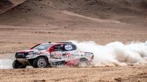 Toyota Dakar Rallisi'nde liderliğe yükseldi