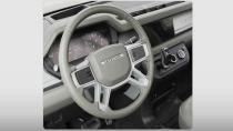 Yeni Land Rover Defender'ın iç mekan görseli ortaya çıktı