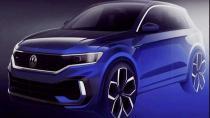 Volkswagen T-ROC R'ın çizimleri yayınlandı