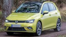 Yeni Volkswagen Golf MK8 kamuflajsız görüntülendi