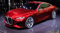 BMW Concept 4 ızgaralarıyla dikkat çekti