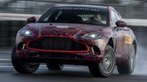 Aston Martin DBX 550 HP güç üretecek