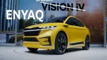 SKODA'nın İlk Yüzde 100 Elektrikli SUV'unun İsmi ENYAQ Oldu