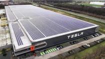 Tesla hisseleri tavan gördü