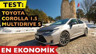 TEST: Toyota Corolla'da 1.5L Dynamic Force benzinli
