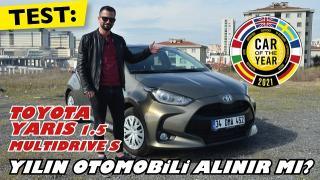 Toyota Yaris 1.5 Multidrive S. Yılın otomobili testte!