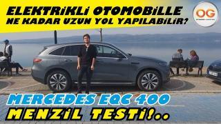 Mercedes-Benz EQC 400 Menzil Testi... Elektrikli Otomobille ne kadar uzun yol yapılabilir?