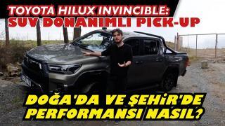 Toyota Hilux İnvincible | Suv Donanımlı Pickup.Yenilmez Hilux gerçekten yenilmez mi?