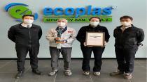 Ecoplas, Toyota tarafından Avrupa Bölgesel Katkı Ödülü'nü aldı