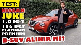 TEST: Nissan Juke Platinium 2021- B-SUV alınır mı? Artıları ve Eksileri